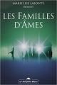Couverture Les familles d'âmes Editions Le Dauphin Blanc 2003