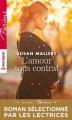 Couverture L'Amour sous contrat Editions Harlequin (Passions) 2017