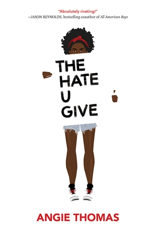 Couverture The hate U give : La haine qu'on donne