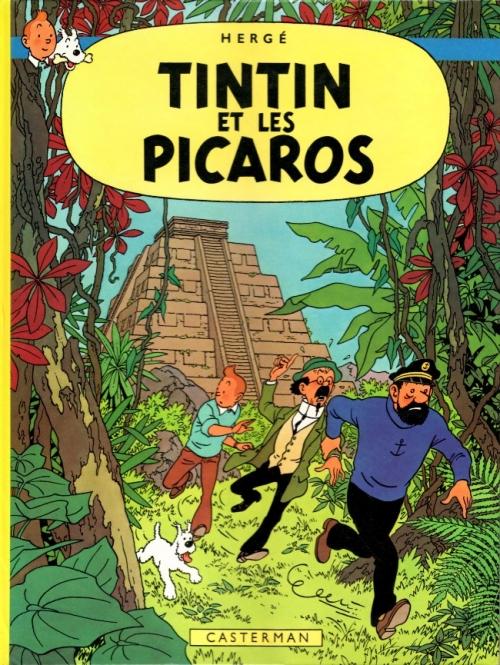 Couverture Les aventures de Tintin, tome 23 : Tintin et les Picaros