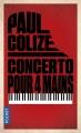 Couverture Concerto pour 4 mains Editions Pocket (Thriller) 2017