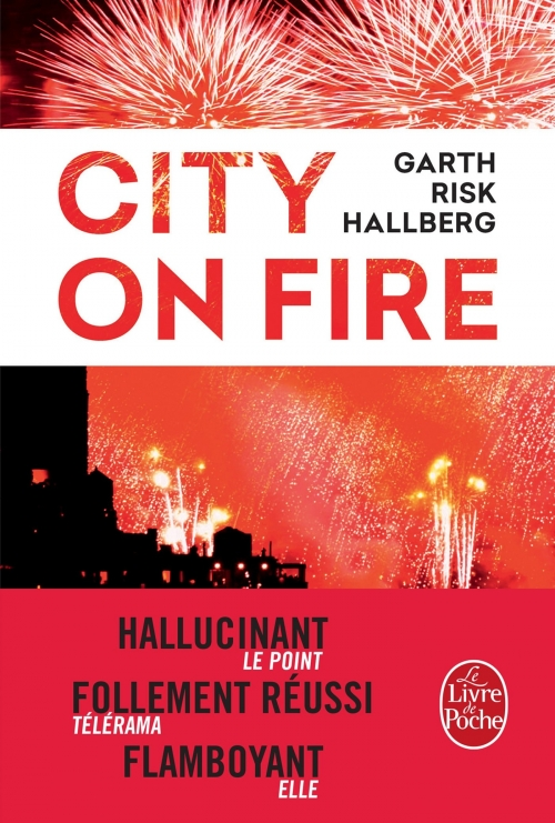 Couverture City on fire