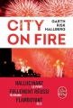 Couverture City on fire Editions Le Livre de Poche 2017