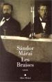 Couverture Les braises Editions Albin Michel 1995