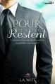 Couverture Pour ceux qui restent Editions MxM Bookmark (Romance) 2016