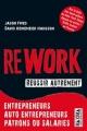 Couverture Rework : réussir autrement Editions Maxima 2010