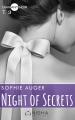 Couverture Night of secrets, tome 3 Editions Nisha (Diamant noir) 2017