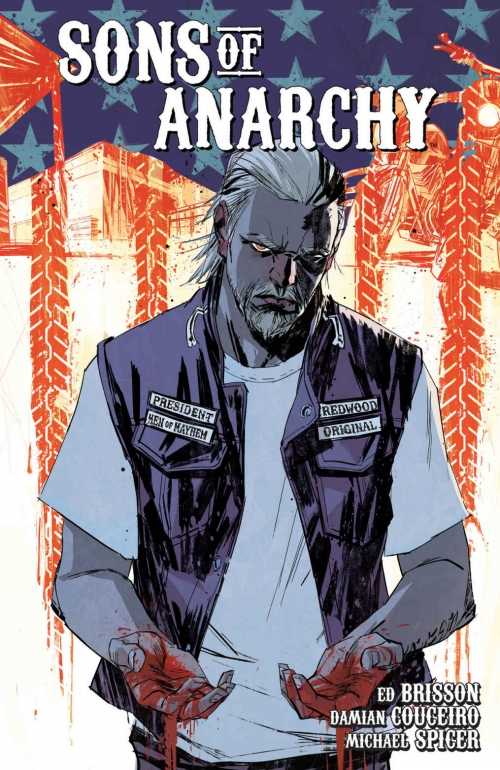 Couverture Sons of anarchy, tome 3