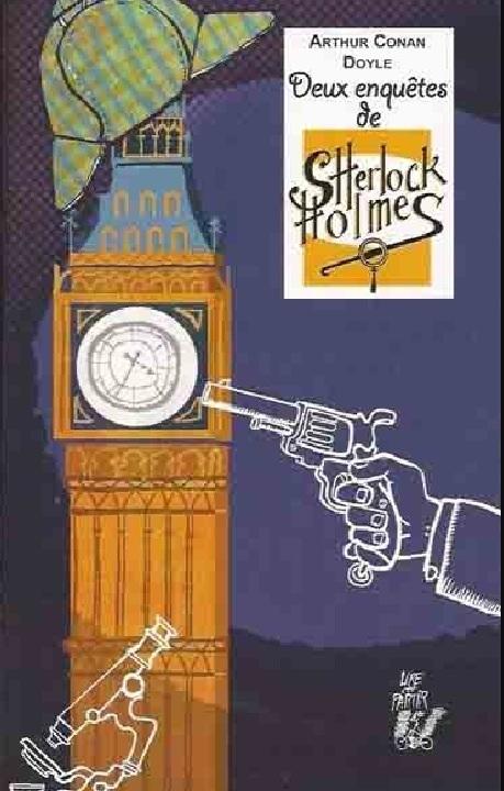 Couverture Deux enquêtes  de Sherlock Holmes
