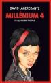 Couverture Millénium, tome 4 : Ce qui ne me tue pas Editions France Loisirs 2016