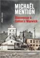 Couverture Bienvenue à Cotton's Warwick Editions Ombres noires 2016