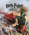 Couverture Harry Potter, illustrée, tome 1 : Harry Potter à l'école des sorciers Editions Carlsen (DE) 2015