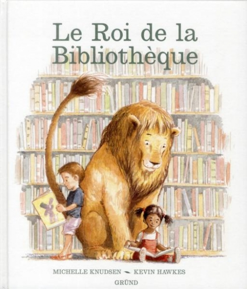 Couverture Le roi de la bibliothèque