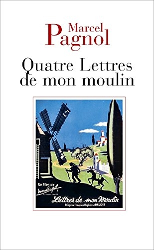 Couverture Quatre lettres de mon moulin