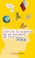 Couverture L'art et la science de se souvenir de tout Editions Flammarion (Champs - Sciences) 2017