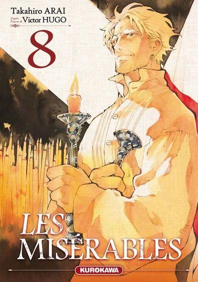 Couverture Les Misérables (manga), tome 8