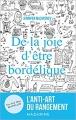 Couverture De la joie d'être bordélique Editions Mazarine 2016