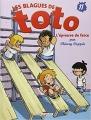 Couverture Les blagues de Toto, tome 11 : L'épreuve de farce Editions Delcourt 2014