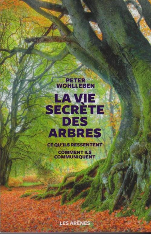 Couverture La vie secrète des arbres