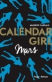 Couverture Calendar girl, tome 03 : Mars Editions France Loisirs 2017