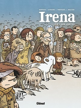 Couverture Irena, tome 2 : Les justes