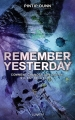 Couverture Forget Tomorrow, tome 2 : Remember yesterday Editions Lumen 2017