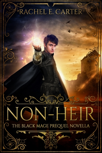 Couverture The black mage, book 0.5: Non-heir