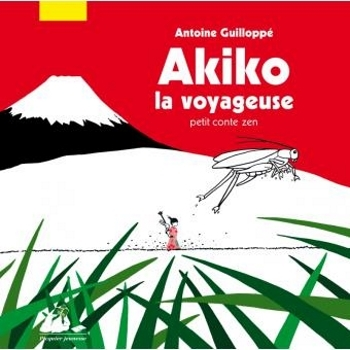 Couverture Akiko la voyageuse : Petit conte zen