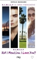 Couverture D.I.M.I.L.Y., tome 1 : Did I mention I love you ? Editions Pocket (Jeunesse) 2016