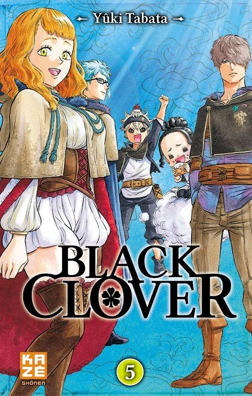 Couverture Black clover, tome 05
