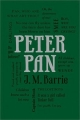 Couverture Peter Pan (roman) Editions Thunder Bay Press (Word Cloud Classics) 2015
