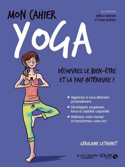 Couverture Mon cahier : Yoga
