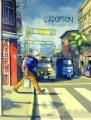 Couverture L'Adoption, tome 2 : La Garùa Editions Bamboo 2017