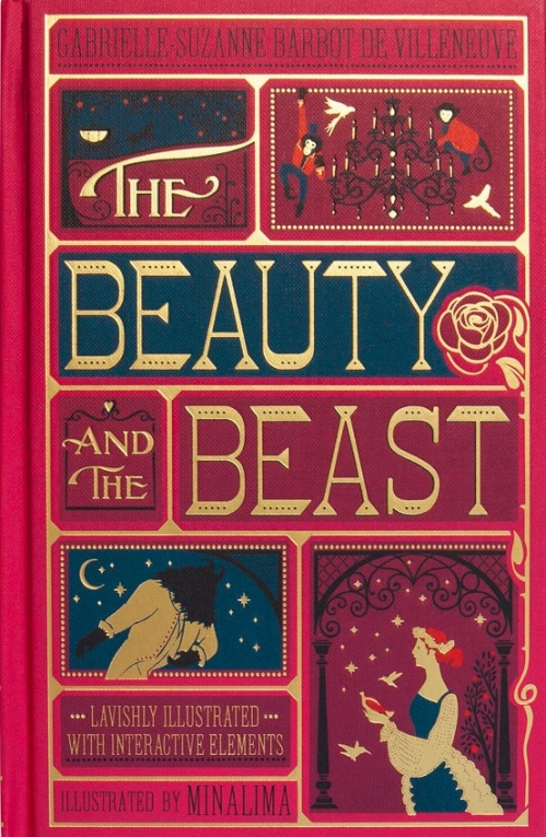 Couverture The Beauty and the Beast, illustrated (MinaLima)