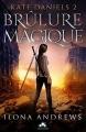 Couverture Kate Daniels, tome 2 : Brûlure magique Editions Infinity (Imaginaire) 2017