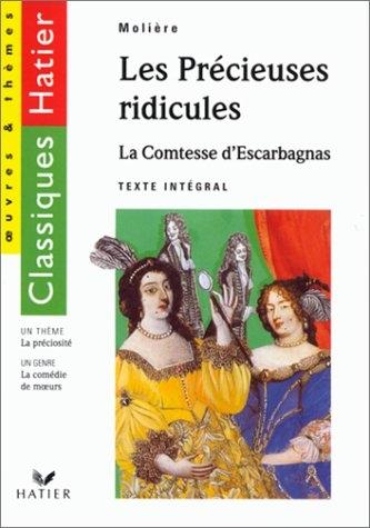 Couverture Les précieuses ridicules, La comtesse d'Escarbagnas