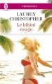Couverture Le bikini rouge Editions J'ai Lu (Pour elle - Promesses) 2017