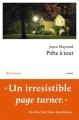Couverture Prête à tout Editions Philippe Rey 2015