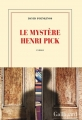 Couverture Le mystère Henri Pick Editions Gallimard  (Blanche) 2016