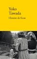 Couverture Histoire  de Knut Editions Verdier 2016