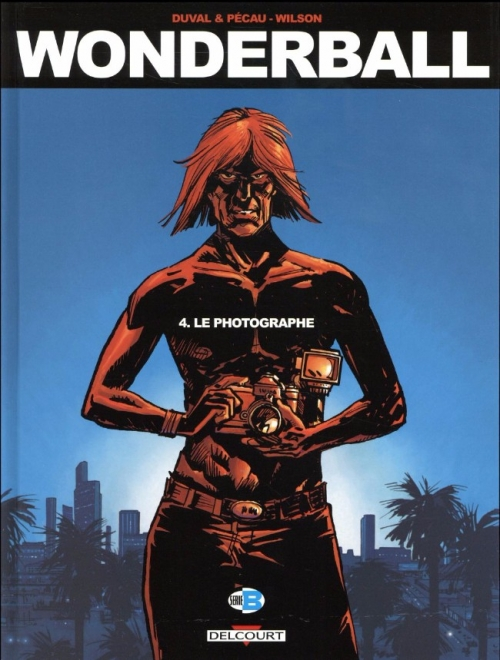 Couverture Wonderball, tome 4 : Le photographe