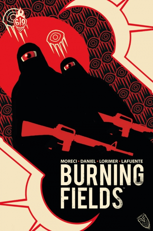 Couverture Burning Fields