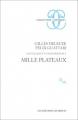 Couverture Capitalisme et schizophrénie, tome 2 : Mille plateaux Editions de Minuit (Critique) 1980