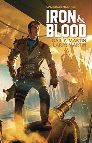Couverture Jake Desmet Adventures, book 1: Iron & Blood