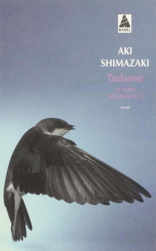 Couverture Le poids des secrets, tome 3 : Tsubame