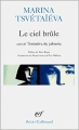Couverture Le ciel brûle suivi de Tentative de jalousie Editions Gallimard  (Poésie) 1999