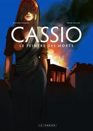 Couverture Cassio,Tome 8 : Le Peintre des Morts