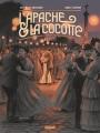 Couverture L'apache et la cocotte, tome 2 : Cléo Editions Glénat (Grafica) 2017