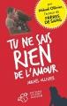 Couverture Tu ne sais rien de l'amour Editions Thierry Magnier 2016