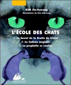 Couverture L'École des Chats, intégrale, tome 1